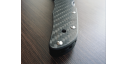 Custome scales 2D Carbonfiber, for Spyderco Endura 4