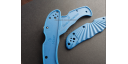 Custome scales Sunny, for Spyderco Endura 4