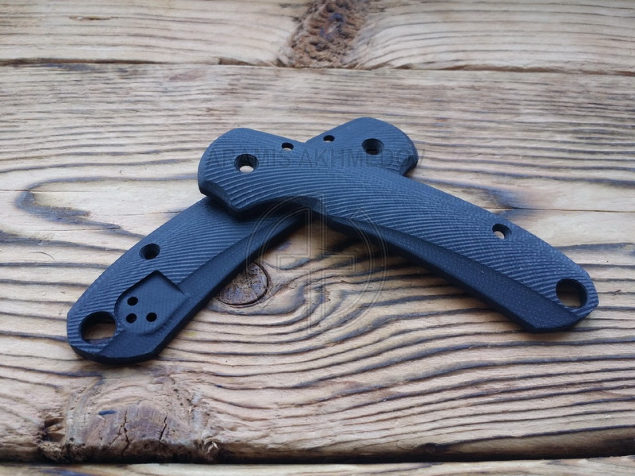 Custome, scales, handles , Grand, Line , for, Spyderco
