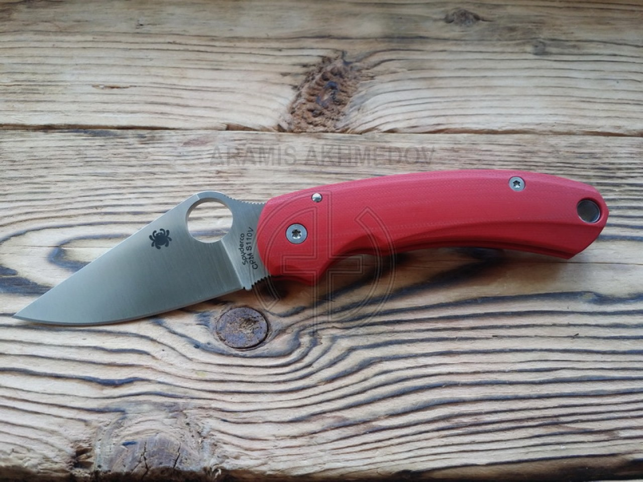 Custome, scales, handles , Grand , for, Spyderco, Para3, knife