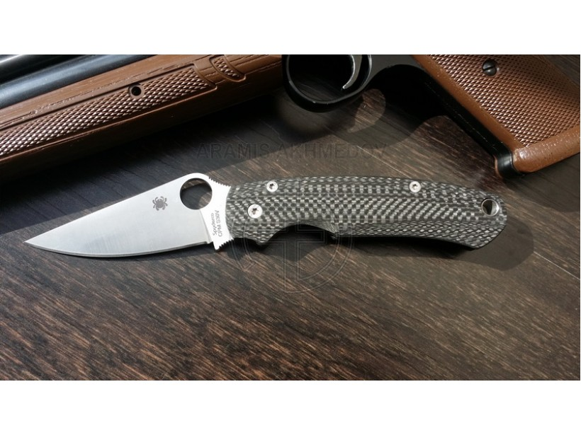 Custome scales GrandCF , for Spyderco Paramilitary 2 knife