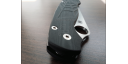 Custome scales SpyWeb, for Spyderco Paramilitary 2 knife