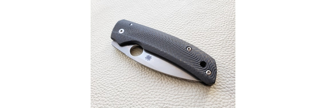 Tactic Line, for Spyderco Shaman knife