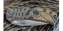 Custome scales Honeycomb, for ZT 0560, ZT 0561. knife